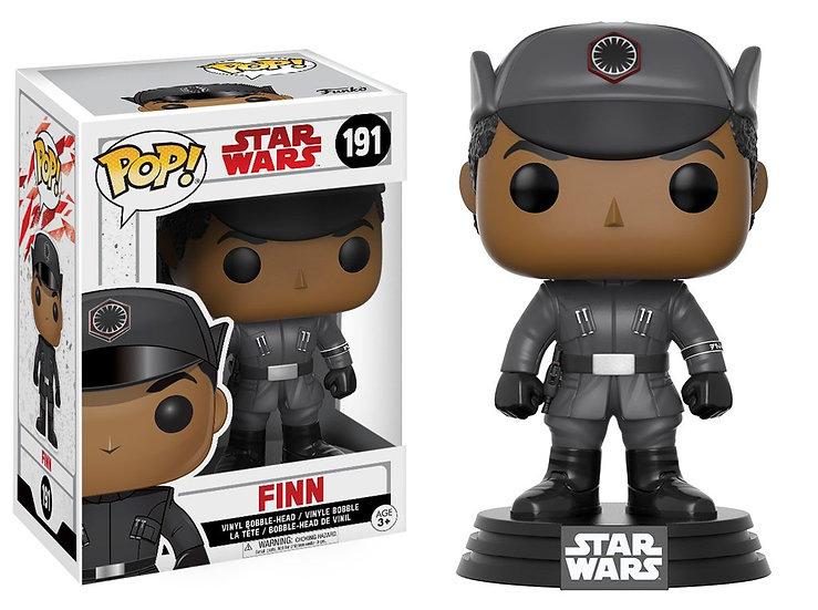 Pop! Star Wars The Last Jedi Vinyl Bobble-Head Finn #191