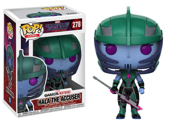 Pop! Games Guardians of the Galaxy Vinyl Figure Hala the Accuser #278 (Vaulted)