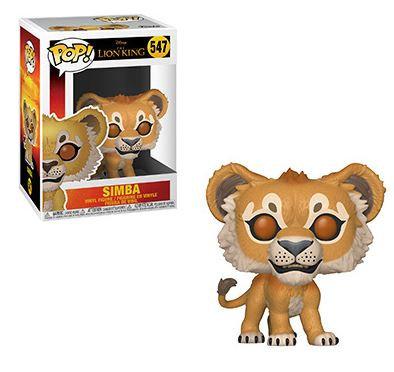 Pop! Disney Lion King Vinyl Figure Simba #547