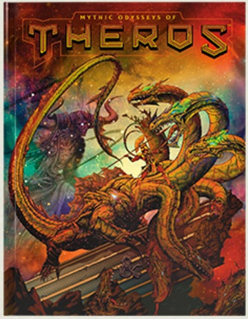 Dungeons & Dragons (5th Ed.): Mythic Odysseys of Theros- Alternate Cover (HC)