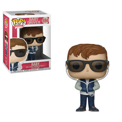 Pop! Movies Baby Driver Vinyl Figure Baby #594