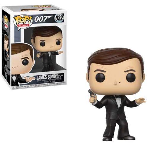 Pop! Movies 007 James Bond Vinyl Figure James Bond from The Spy Who Loved Me #52