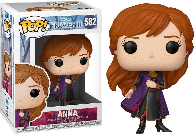 Pop! Disney Frozen II Vinyl Figure Anna #582