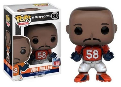 Funko POP NFL: Wave 3 - Von Miller #60