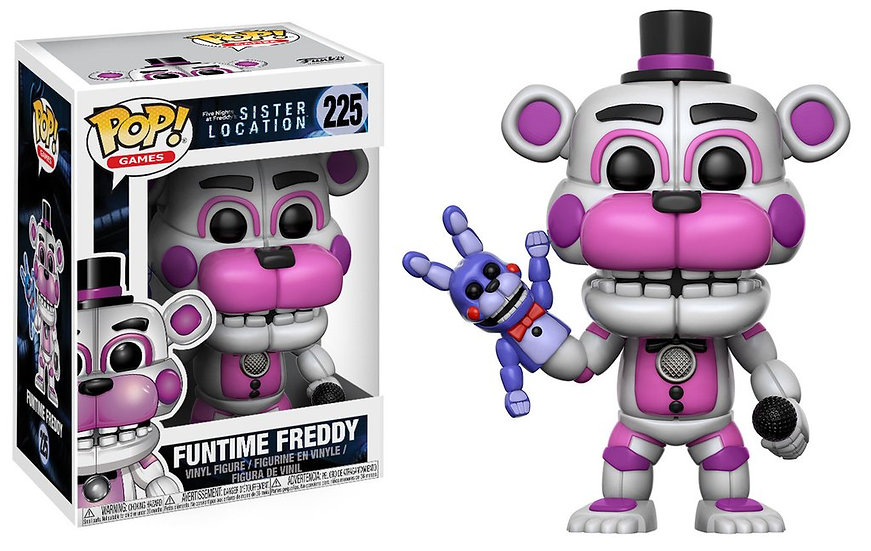 Pop! Games Five Nights at Freddy's Sister Location Figure Funtime Freddy #225