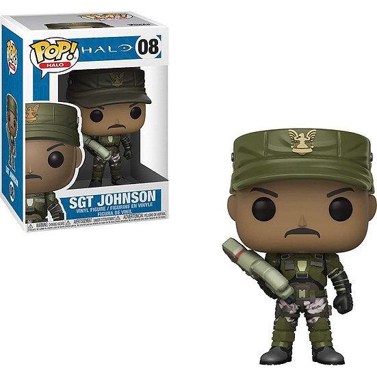 Pop! Halo Vinyl Figure Sergeant Johnson #08