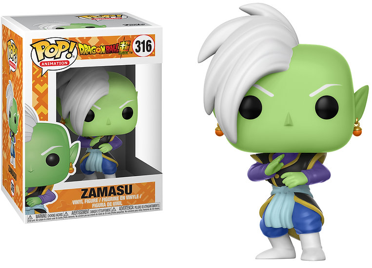 Pop! Animation Dragon Ball Super Vinyl Figure Zamasu #316