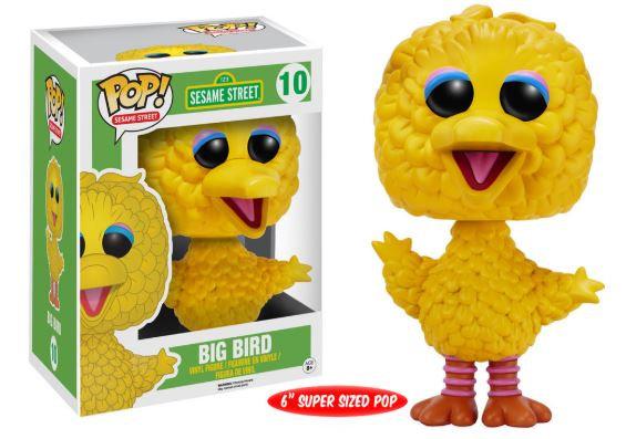 "Pop! Television Sesame Street Vinyl Figure 6"" Big Bird #10 (Vaulted)"