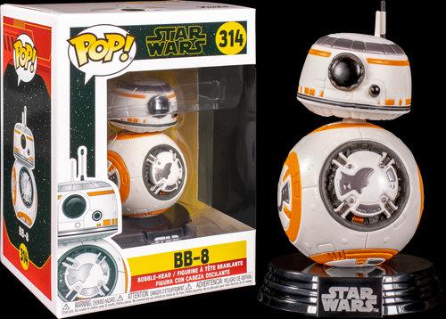 Pop! Star Wars The Rise of Skywalker Vinyl Bobble-Head BB-8 #314
