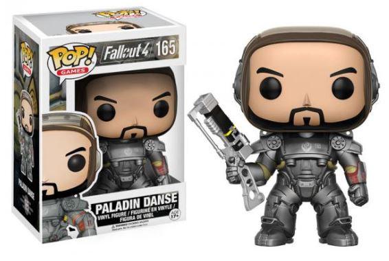 Pop! Games Fallout 4 Vinyl Figure Paladin Danse #165 (Vaulted)