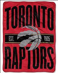 NBA MICRO SUPER PLUSH THROW - RAPTORS