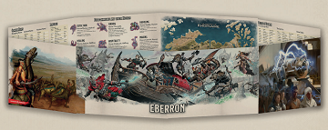 Dungeons and Dragons: Eberron GM Screen