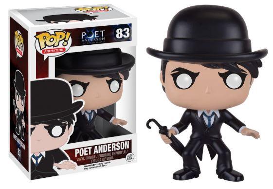 Pop! Animation Poet Anderson Vinyl Figure Poet Anderson #83 (Vaulted)