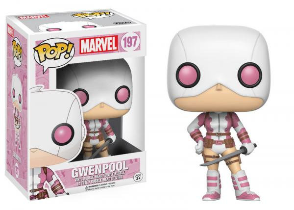 Pop! Marvel Vinyl Bobble-Head Gwenpool #197 (Vaulted)