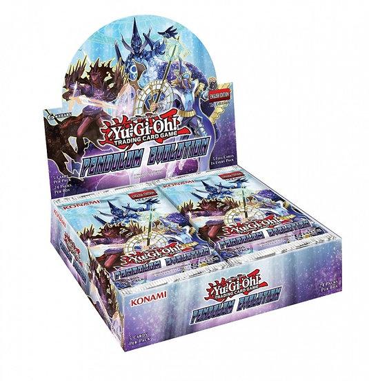 YuGiOh Trading Card Game: Pendulum Evolution Booster Box
