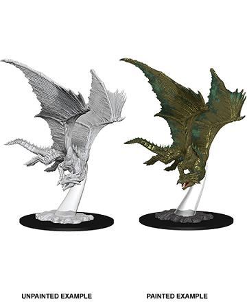 Dungeons & Dragons Nolzur's Marvelous Miniatures: Young Bronze Dragon
