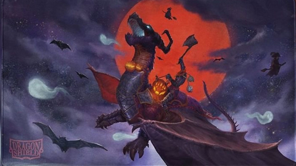 Dragon Shield: Playmat - Halloween Dragon