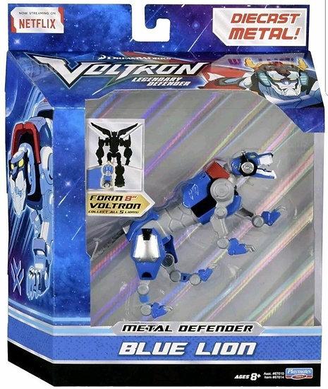 Voltron Legendary Defender Metal Defender Blue Lion Diecast Action Figure