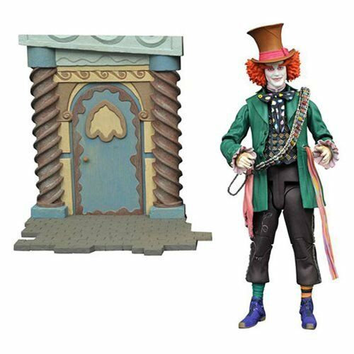 Diamond Select Toys Alice Through the Looking Glass: Mad Hatter Action Figure