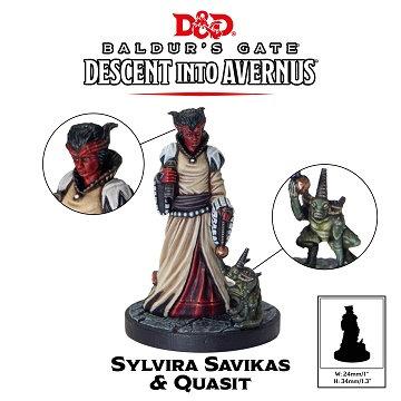 Dungeons and Dragons: Baldur's Gate: Descent into Avernus - Sylvira Savikas & Qu