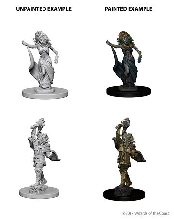 Dungeons & Dragons Nolzur's Marvelous Miniatures: Medusas