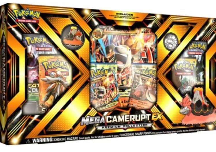 Pokemon Sun & Moon Mega Camerupt-EX Premium Collection