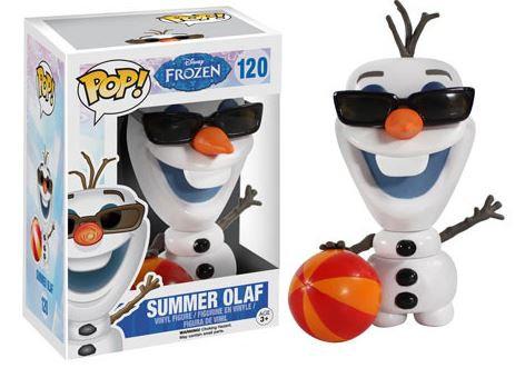 Pop! Disney Frozen Vinyl Figure Summer Olaf #120 (Vaulted)