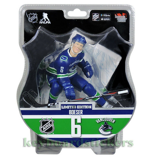 """Limited Edition Import Dragons Brock Boeser 6"""" Figure"""