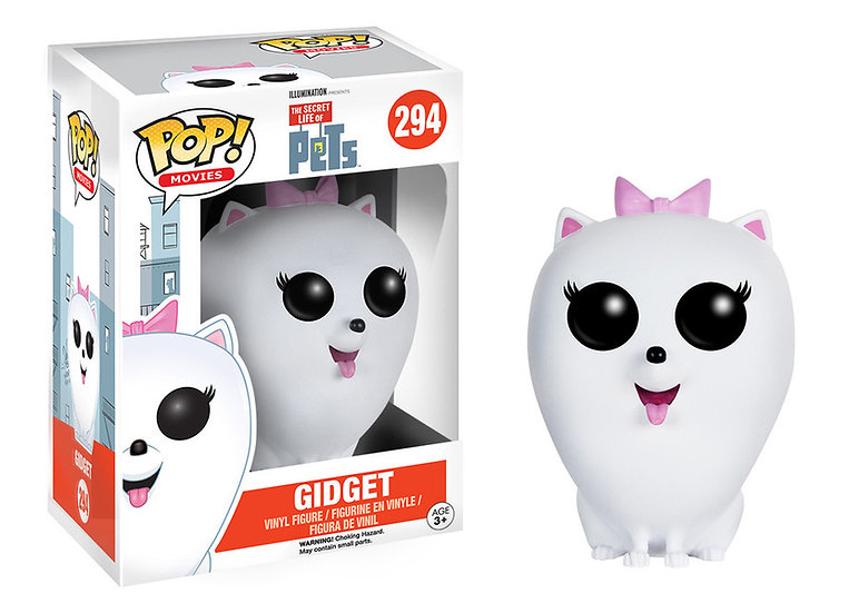 Pop! Movies The Secret Life of Pets Vinyl Figure Gidget #294 (Vaulted)