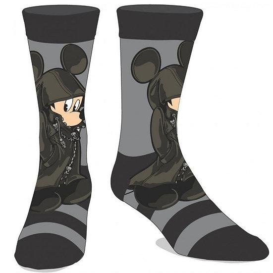 Disney Kingdom Hearts King Mickey Mouse Crew Socks