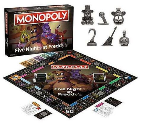 Monopoly Five Nights at Freddy's