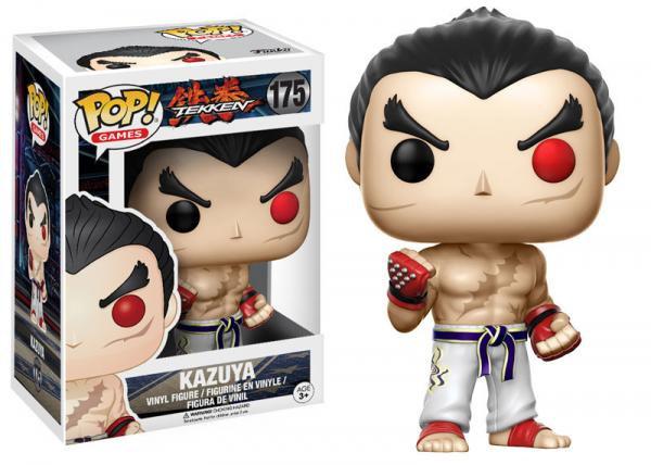 Pop! Games Tekken Vinyl Figure Kazuya #175