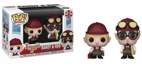 Funko POP! Christmas - Peppermint Lane Vinyl Figures 2-Pack - RANDY & ROB