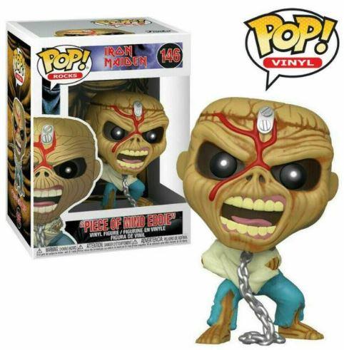 Funko Pop! Iron Maiden Piece of Mind Skeleton Eddie Pop Figure #146