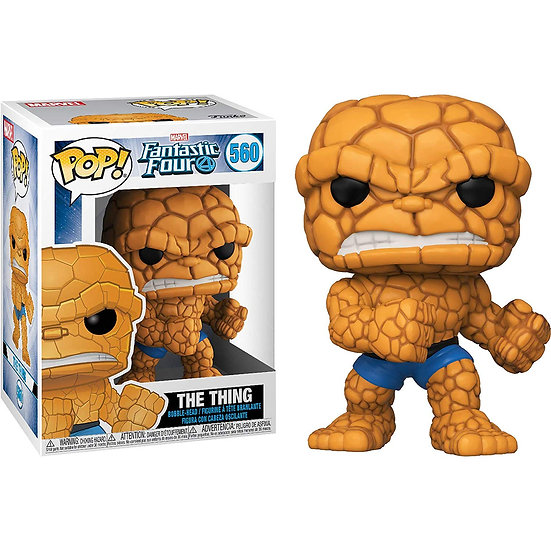 Pop! Marvel Fantastic Four Vinyl Bobble-Head The Thing #560