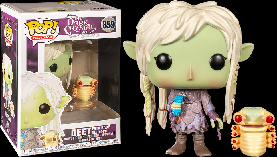 Pop! Television The Dark Crystal: Age of Resistance Vinyl Figure Deet with Baby