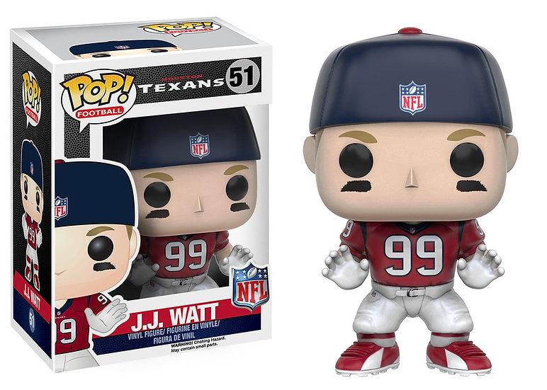 Pop! Football NFL Series 3 Vinyl Figure J.J. Watt (Houston Texans) #51