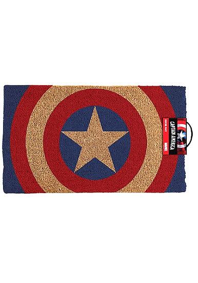 Captain America Shield Design Door Mat