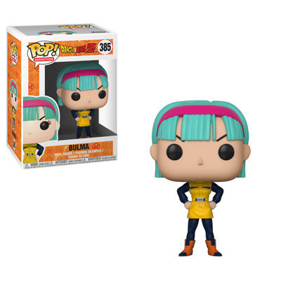 Pop! Animation Dragon Ball Z Vinyl Figure Bulma #385