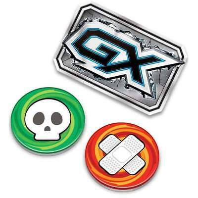 Pokemon TCG Official Acrylic Coins GX Marker + Damage Burn & Poison Counters