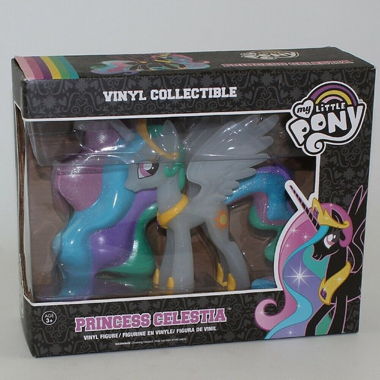 Funko My Little Pony Collectible Vinyl Figure Clear Glitter Princess Celestia