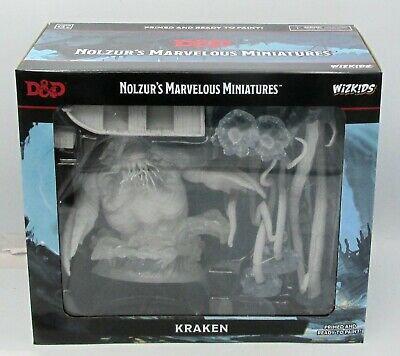 D&D Unpainted Minis Kraken