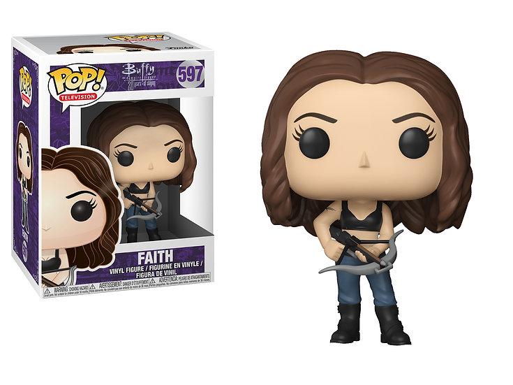 Pop! Television Buffy the Vampire Slayer Vinyl Figure Faith #597