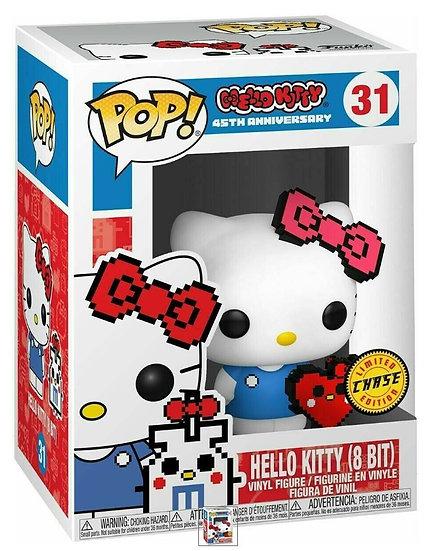 Funko - Pop & Buddy: Sanrio Hello Kitty 8 Bit #31 LIMITED CHASE EDITION