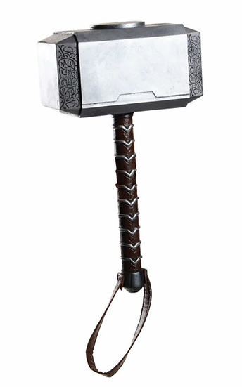 Avengers Endgame Prop Replica Cosplay Thor's Hammer