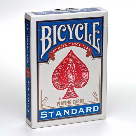 Bicycle Playing Cards: Standard Poker Cards Blue