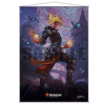 Stained Glass Planeswalkers Wall Scroll Chandra for Magic