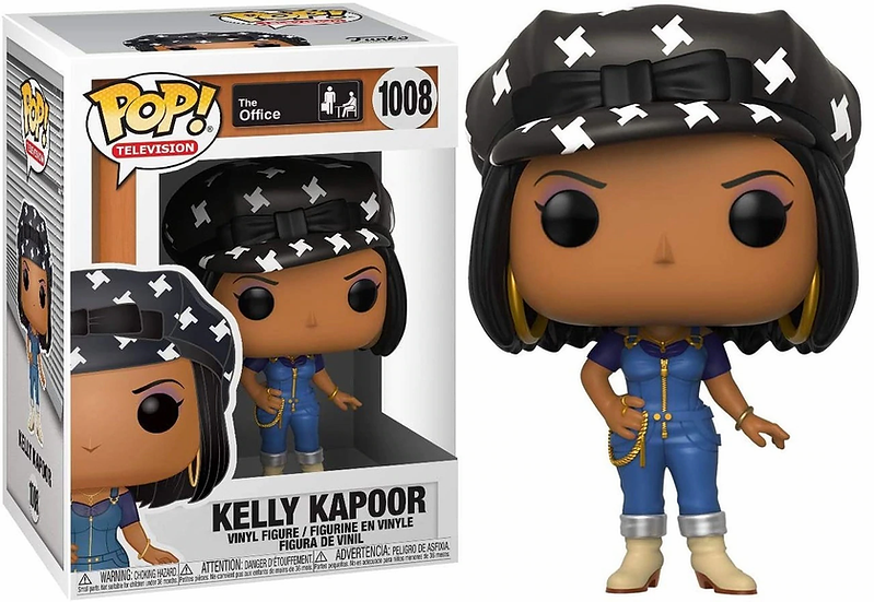 Pop! Television The Office Vinyl Figure Kelly Kapoor (Casual Friday) #1008