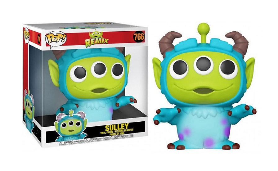 "Funko POP! 10"" Animation: Alien Remix Sulley #766"