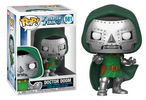 Pop! Marvel Fantastic Four Vinyl Bobble-Head Doctor Doom #561